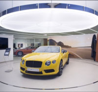 Trần showroom ô tô