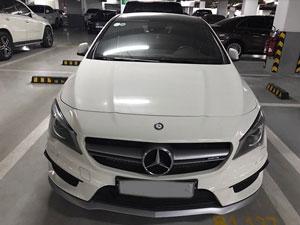 Xe Mercedes CLA45 AMG