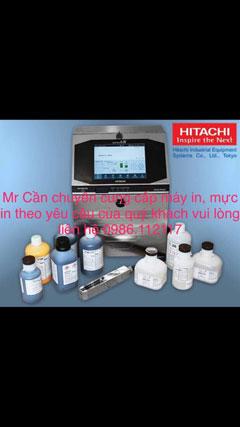 Máy Hitachi và mực in PX