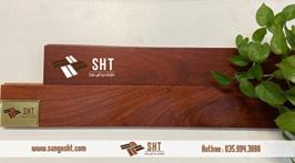 Sàn gỗ hương Nam Phi (Padouck)
