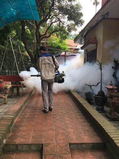 Dịch vụ phòng và diệt côn trùng
