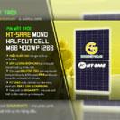 Pin mặt trời HT-SAAE Mono Halfcut