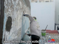 Dịch vụ sơn nước công trình