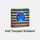 Full Tamper Evident