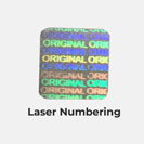 Laser Numbering