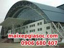 Mái vòm nhà thép tiền chế