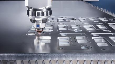 Gia công cắt Laser kim loại tấm