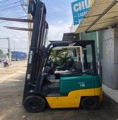 Xe nâng điện Komatsu ngồi 1500kg