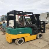 Xe nâng điện ngồi lái Komatsu 2500kg