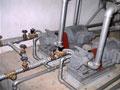 Lắp tuyến ống bơm dầu