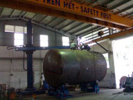 Sản xuất bồn thép