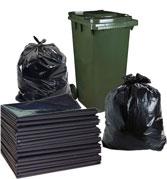 Túi nilon đựng rác đen không quai