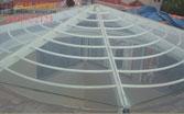 Mái giếng trời bằng kính cường lực