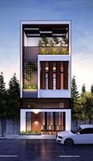 Thiết kế thi công nhà phố