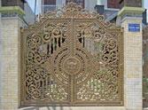 Sơn tĩnh điện cho cửa cổng