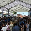 Nhà bạt không gian lớn - Hội chợ