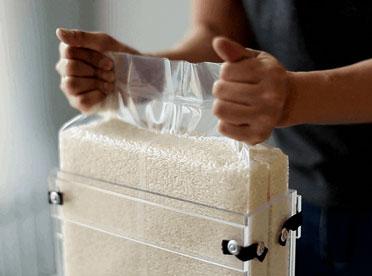 Túi đóng hộp gạo