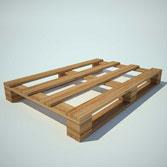 Pallet gỗ định vị theo hàng hóa