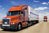 Vận chuyển bằng xe kéo Container