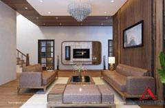 Thiết kế nội thất biệt thự gia đình