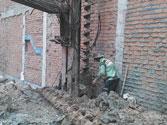 Thi công nền móng xây dựng