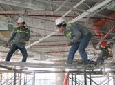 Xây lắp điện công nghiệp tòa nhà