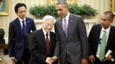 Bảo vệ Tổng Thống Obama ghé thăm