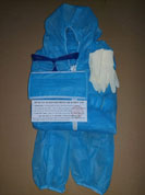 Quần áo bảo hộ phòng dịch