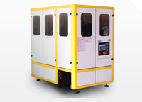 Máy thổi chai PET tự động ra 2 sản phẩm HZ 880B