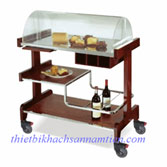 Xe đẩy phục vụ rượu bánh