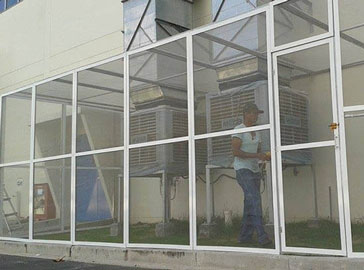 Cửa lưới ngăn muỗi cố định