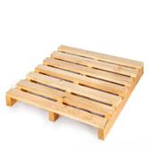 Pallet gỗ 2 hướng nâng tải trọng 2 tấn