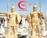 Điêu khắc tượng chiến binh Châu Âu