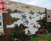 Tranh đá dán tường phong cảnh