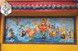 Phù Điêu Xi Măng Phật