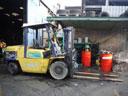 Xe nâng Komatsu 35 tấn