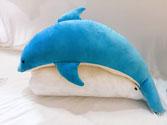 Thú nhồi bông cá heo xanh