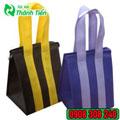 Túi vải không dệt có dây kéo