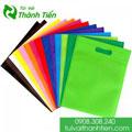 Túi vải không dệt đa màu sắc