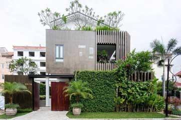 Thiết kế thi công tường cây xanh