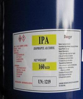IPA – Iso Propyl Alcohol