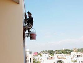 Dịch vụ thi công sơn