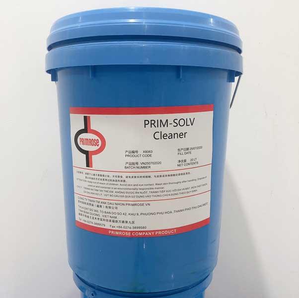 Dầu PRIM-SOLV Cleaner.