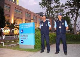 Dịch vụ bảo vệ phòng khám bệnh viện