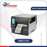 Máy in mã vạch công nghiệp Zebra