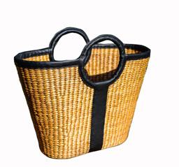 Túi xách mây tre đan