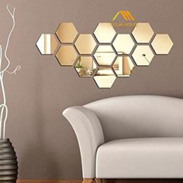 Gương trang trí tường Golden Beehive Mirror