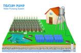Hệ thống bơm nước năng lượng mặt trời