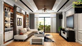 Thiết kế nội thất nhà phố nhà ở