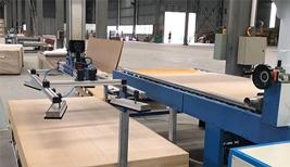 Dây chuyền sản xuất sàn gỗ